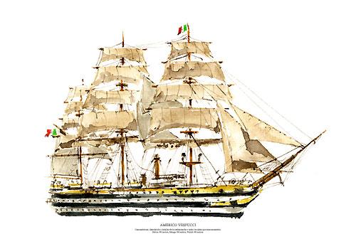 Amerigo Vespucci.